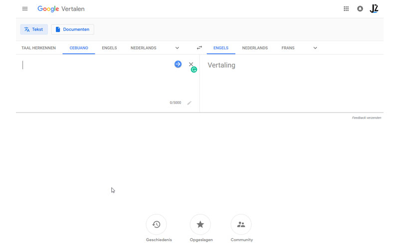 Google Translate Material Design 2.0