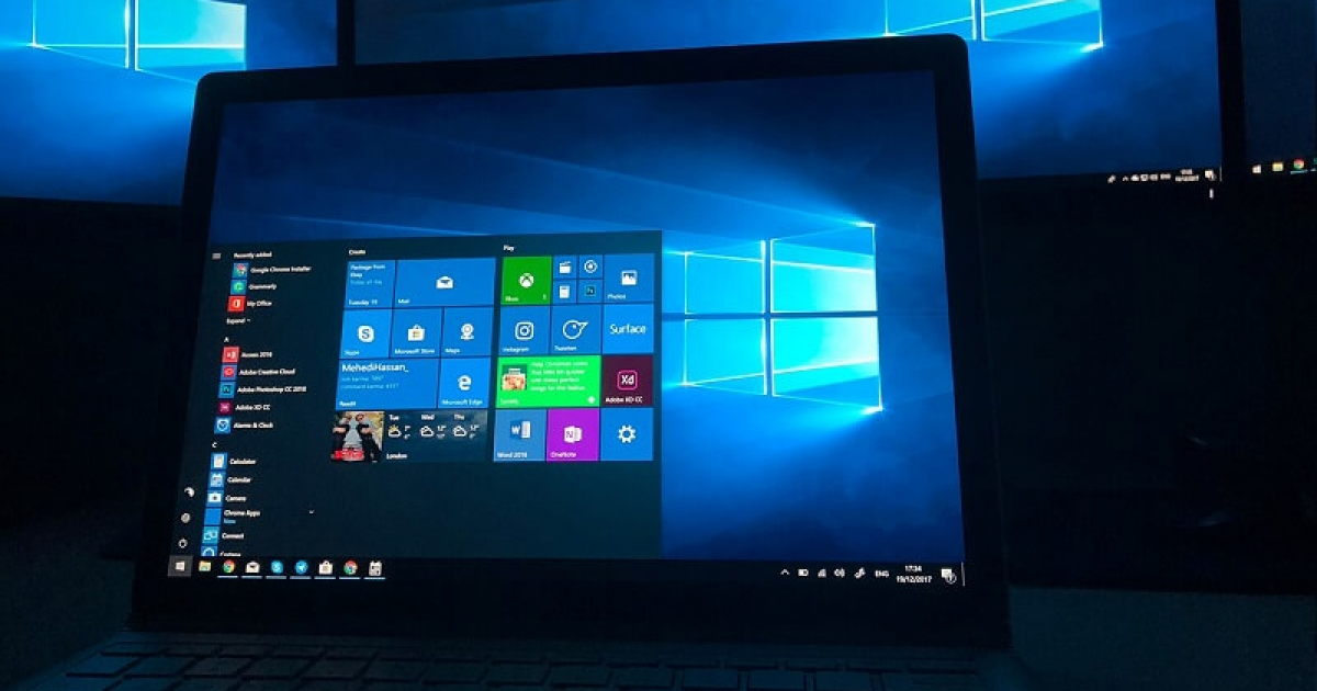First images of the supposed Windows 10 Cloud appear