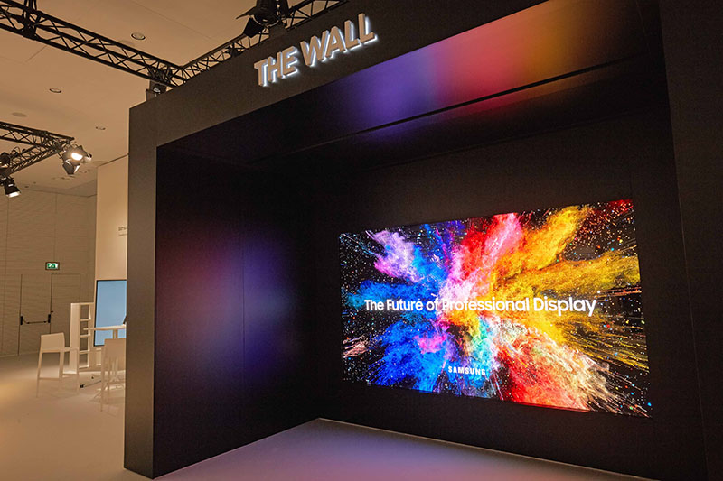 Samsung TV The WALL OLED Android