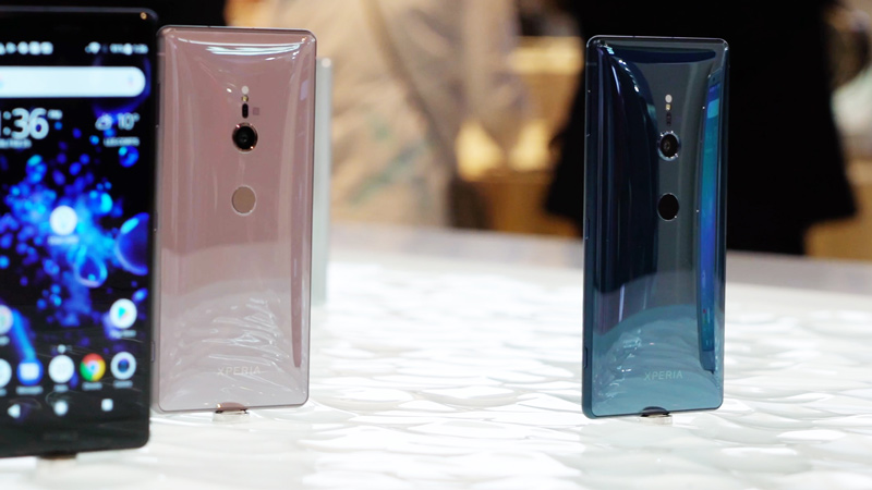 Android P Sony Xperia XZ2 Android Design