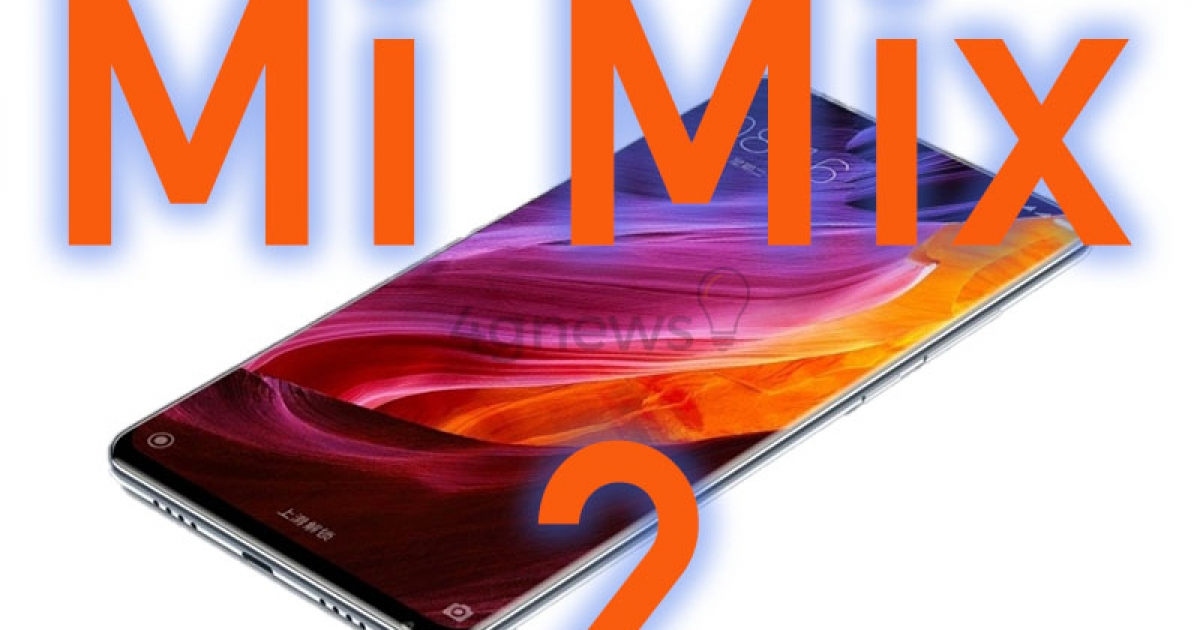 Sorry but this will hardly be the design of the new Xiaomi Mi Mix 2