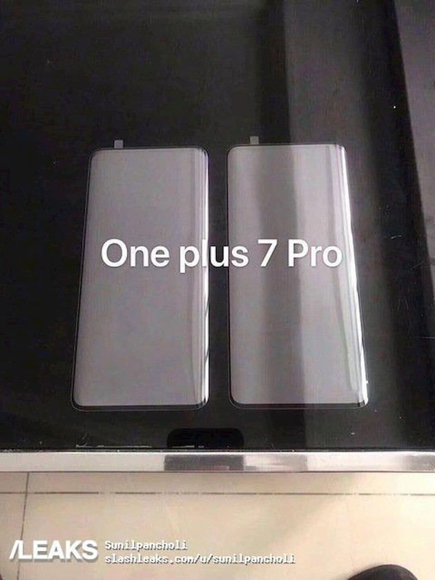 oneplus 7 pro tempered glass leak
