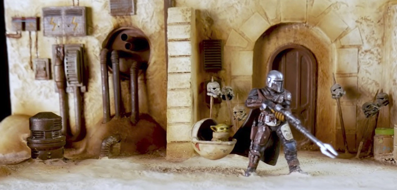 The Mandalorian - Diorama