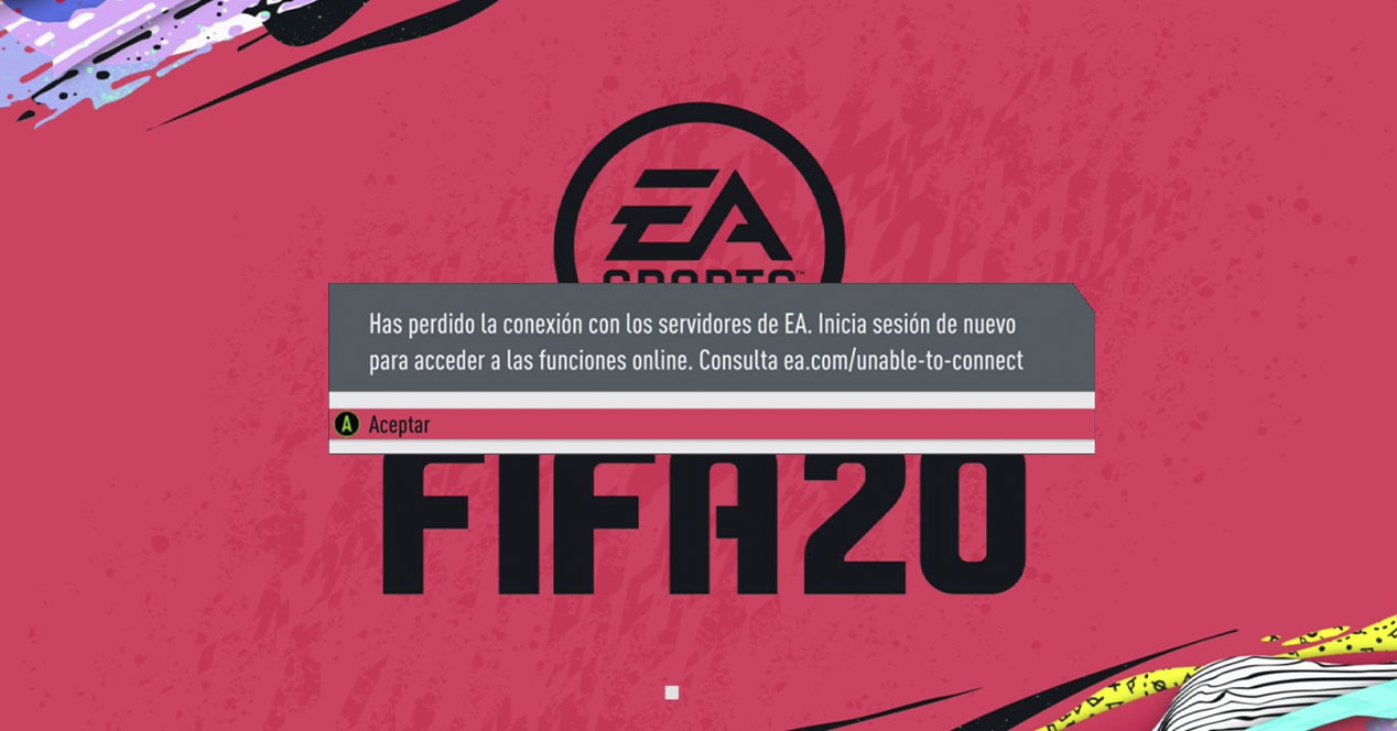 EA servers are down and FIFA 20 cannot be played - Entertainment Box
