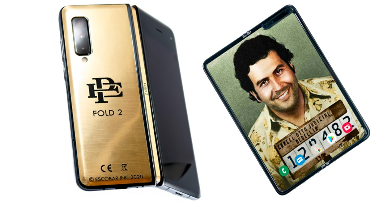 Pablo Escobar's son presents his second folding phone with another inexplicable ad that smells like a scam