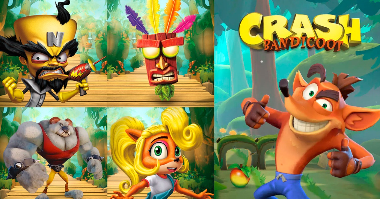Crash Bandicoot will arrive on mobile with the creators of Candy Crush