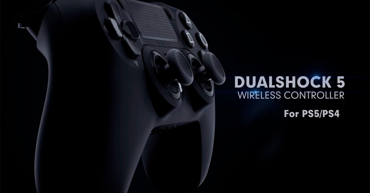 The most real Dualshock 5 of PS5 that we have seen to date can be seen in this conceptual video