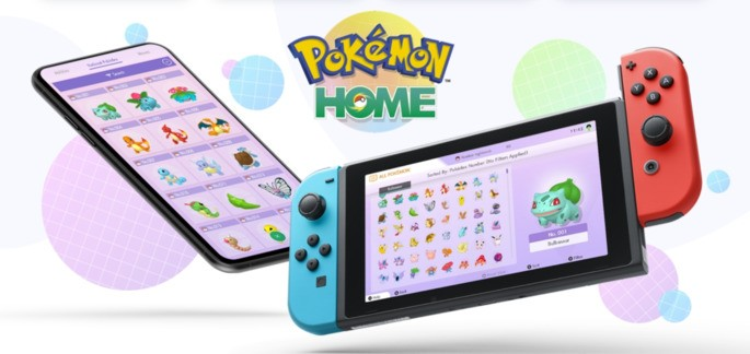 Pokemon Home Nintendo Switch iOS Android