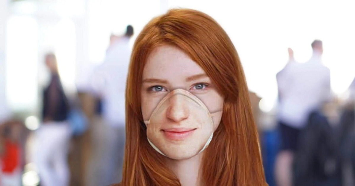 Coronavirus inspires company to create masks compatible with iPhone's Face ID