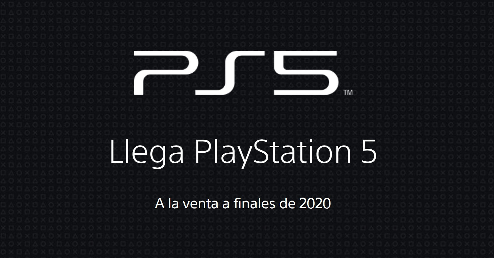 PS5 official website