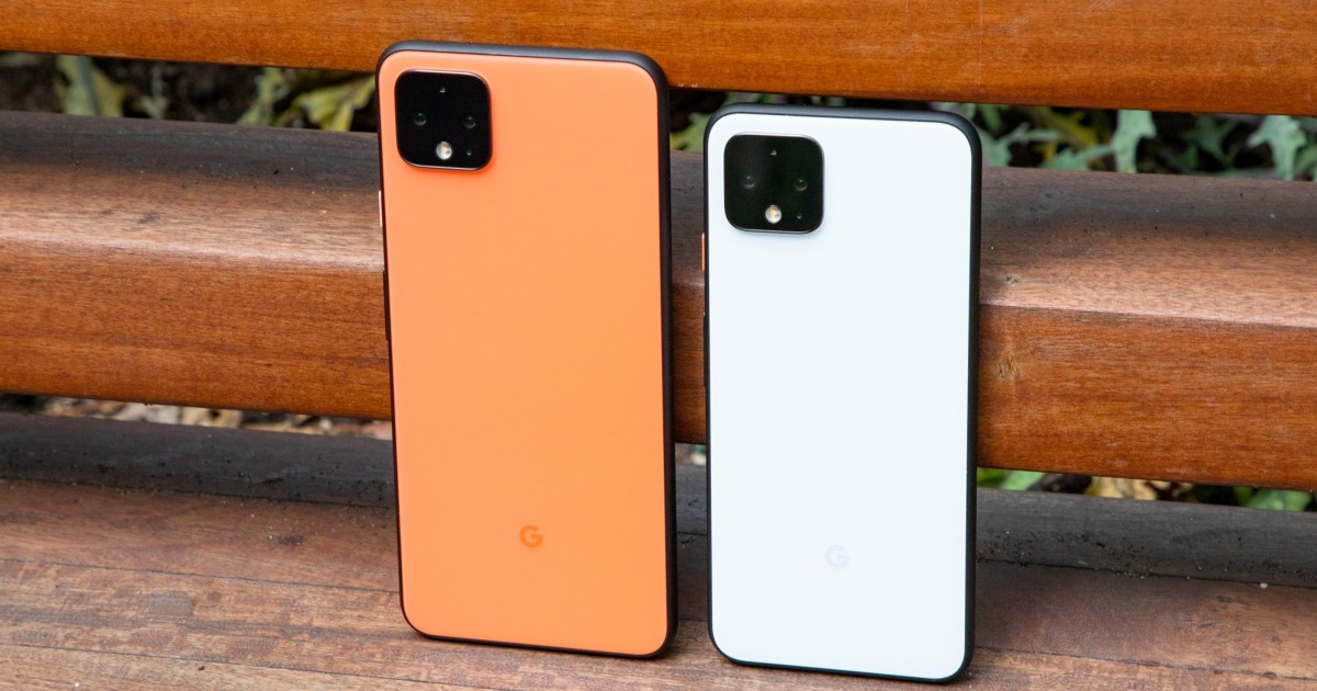 Google Pixel 5: image shows the size difference between the models