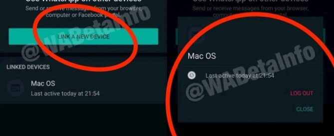 WhatsApp new functionality multiple equipment