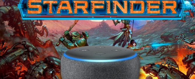 Starfinder, an interactive story for Alexa and the Amazon Echo