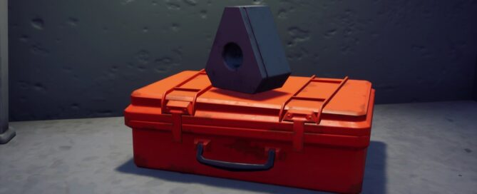 This orange briefcase hidden in Fortnite could be related to Tenet