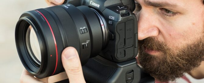 Canon EOS R5 problem, solved by removing the card?