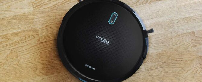 You have this Cecotec robot vacuum cleaner for less than 150 euros