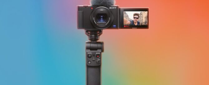 The new Sony ZV-1, the camera of the vloggers, is for 120 euros less