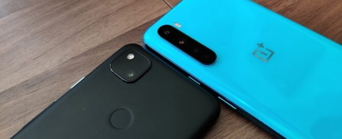 Google Pixel 4a vs OnePlus Nord: see which of these midrange is the fastest? (video)