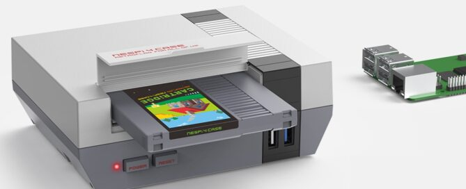 Turn your Raspberry Pi 4 into a Nintendo NES with this case