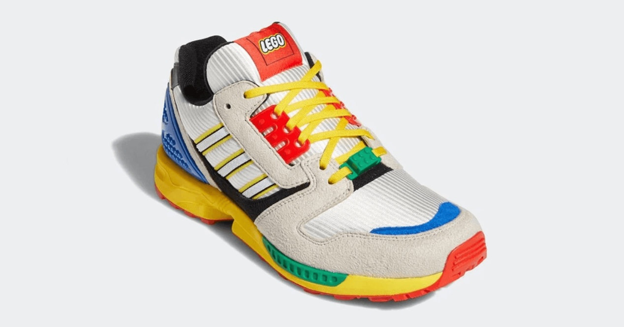 Adidas x LEGO sneakers