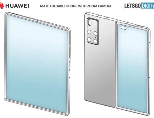 Huawei's future folding smartphone? It may be a copy of Samsung