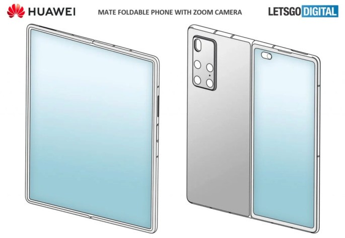 Huawei patent designed by LetsGoDigital