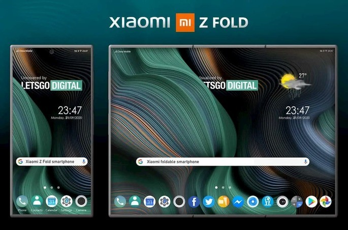 foldable smartphone from Xiaomi