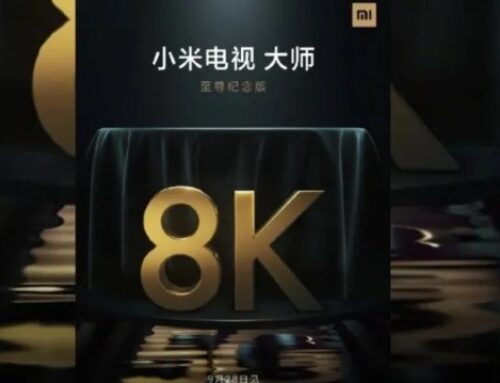 Xiaomi. First Smart TV with 8K resolution already has an official release date!