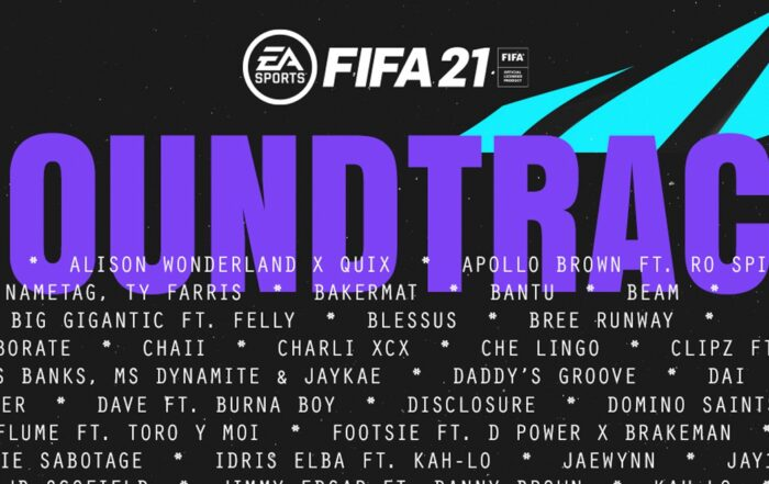 Warm up: this is all the official music of FIFA 21
