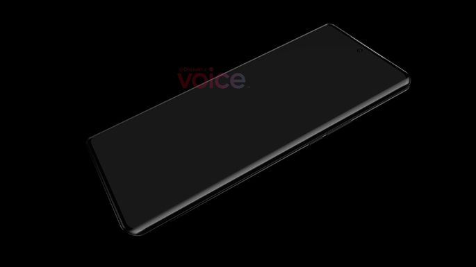 First unofficial Huawei P50 Pro image. Credit: Voice
