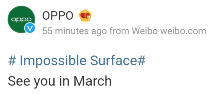 Oppo Find X3 will be officially unveiled in March