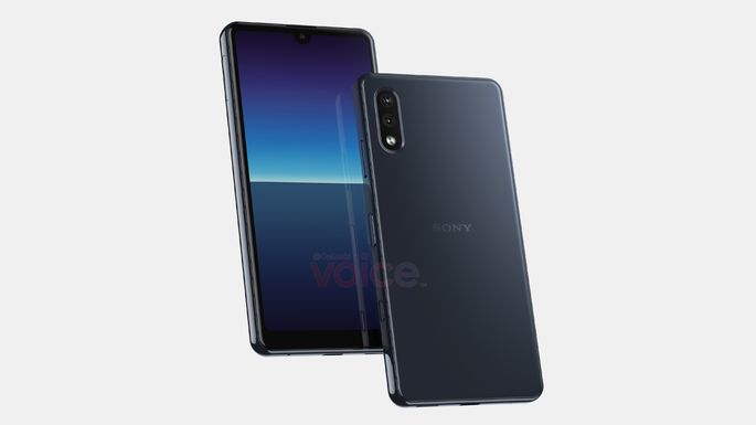 Render of the future Sony Xperia Compact.  Credit Steve Hemmerstoffer