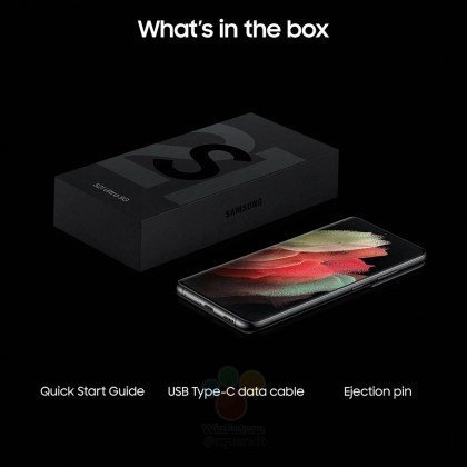 Charger and earphones will not be included in the Samsung Galaxy S21 box