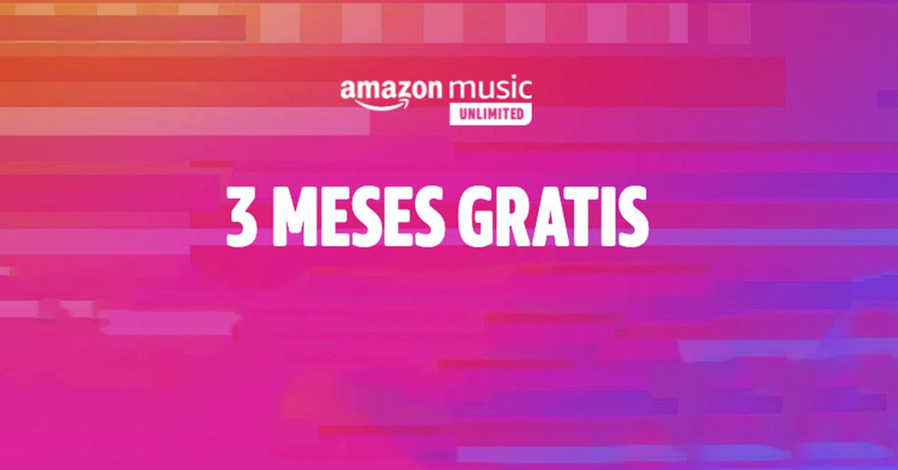 You have a new Amazon offer: 3 months of free music from today