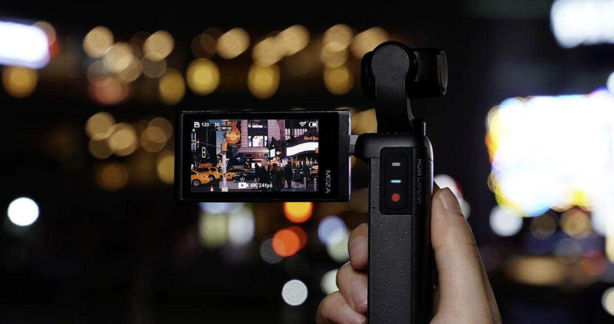 A great alternative to the DJI Osmo Pocket 2: Moza Moin Camera