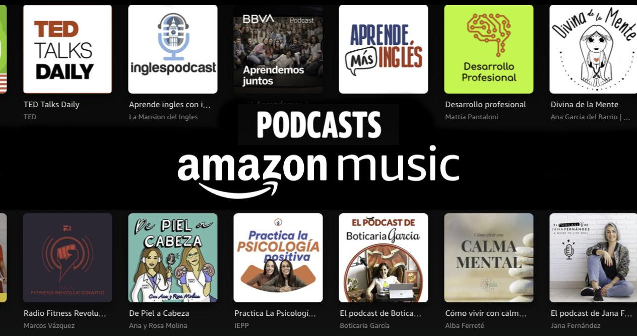 Listen to your favorite podcasts on Amazon Music with Alexa and your Echo