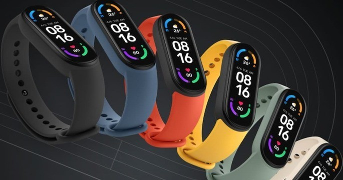 This is the Xiaomi Mi Band 6
