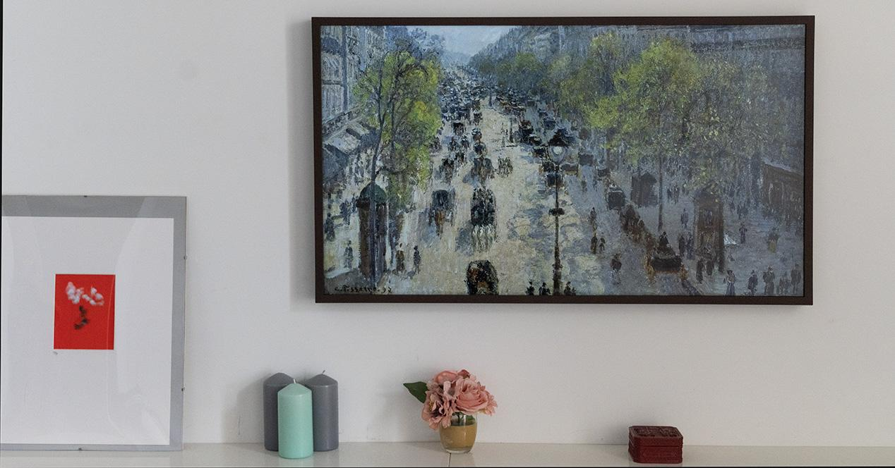 Offer with a historical minimum for the Samsung Smart TV The Frame