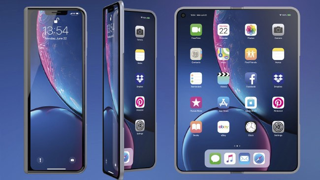Apple iPhone foldable